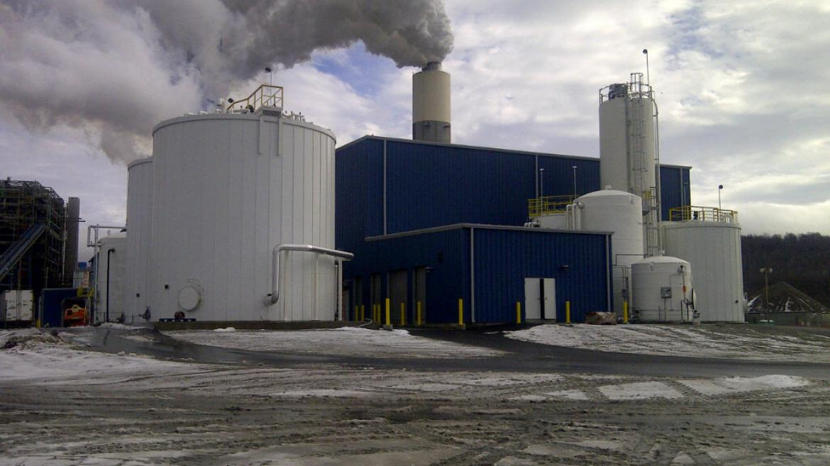 Conemaugh WWT Plant During Commissioning