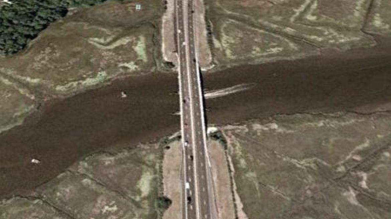 Patcong Creek Bridge Satellite