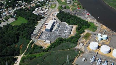Sayreville Substation Aerial View