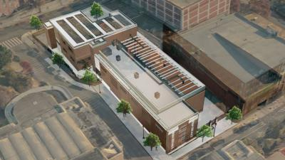 Rendering of New Champlain Substation